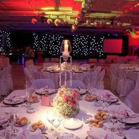 Servicio de catering y salones para eventos