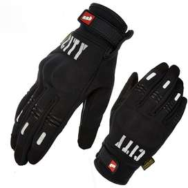 Guantes City Tactiles Mad Bike Termicos Proteccion En Nudillos