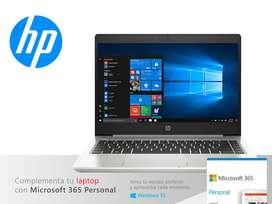 Laptop HP ProBook 445 G7 AMD Ryzen 5 4500U 8GB/SSD256GB/14″/ USB-C Mini Dock (153N9LT) W10P