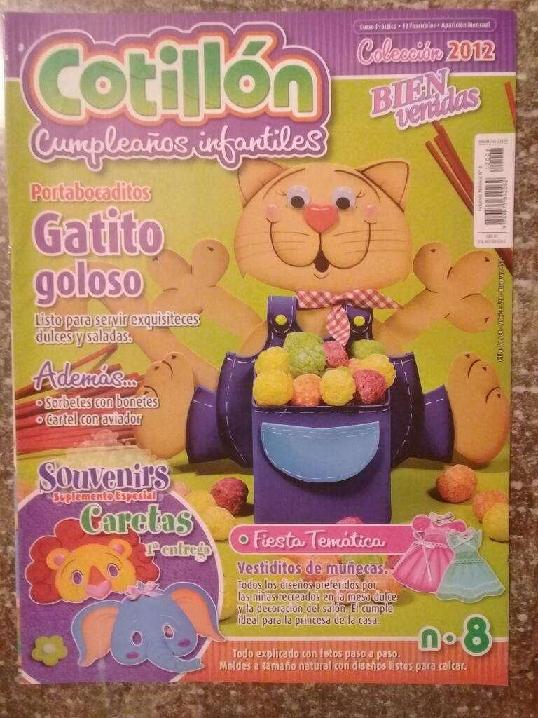 Cotillón Cumpleaños Infantiles N8 2012 0