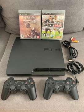 Playstation 3 2 joysticks y juegos