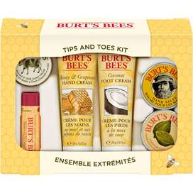 Burts Bees Kit De Manos Y Pies Lip Incluye 6 Productos