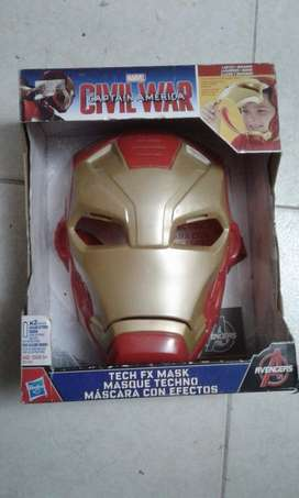 Vendo mascara iron man y hulk