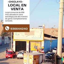 OCASIÓN - VENTA LOCALCOMERCIAL EN CHICLAYO