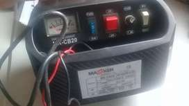 Cargador para baterías de carross