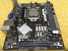 Combo Board h61, i3 3240 3.40Ghz y 2 de ram