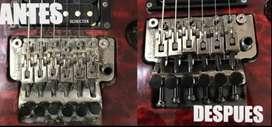 Mantenimiento, reparación y restauración de instrumentos musicales, octavacion y calibración.