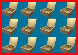 docena de cofre, caja con tapa en madera mdf ideales para regalo ,decoración, detalles , manualidades, medidas 25x25x9