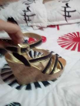 Sandalias altas venta