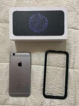 Iphone 6 perfecto estado con caja