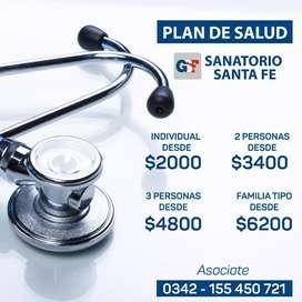 Plan de Salud Sanatorio Santa Fe