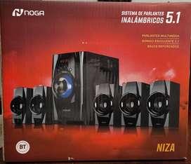Equipo de audio NOGA Niza 5.1en garantia