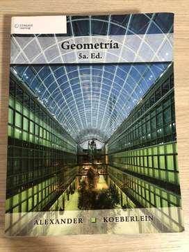 Libro de geometría 5ta edición