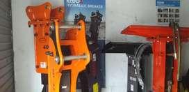 Martillo Hidraulico CAT420, CASE580, JCB, John Deere 310