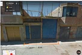 venta de casa primer piso construido en Juliaca