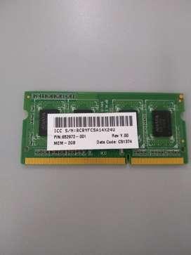 Memoria ram 2gb Ddr3 1600 Cl11 12800s