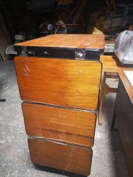 Se vende archivador oficina usado en madera original