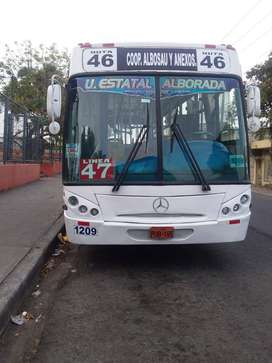 Oportunidad Venta BUS Mercedes Benz 1721 transporte público año 2006