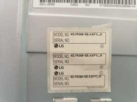 Venta TV LG42 LF6500 smrtv 3d como repuesto