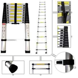 Escalera Telescópica Retráctil en Aluminio hasta 2,9 metros