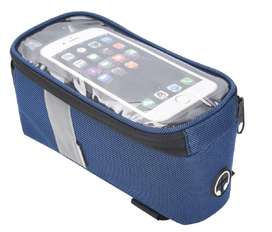 Bolso para portar el celular, documentos, marco frontal bicicleta.