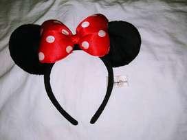 Vincha Orejas Minnie Mouse Original Disney Store