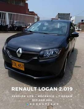 Renault logan 2019 con solo 7000km