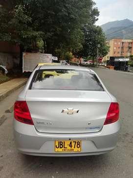 Vencambio a taxi Chevrolet sail modelo 2017 en muy buen estado muy poco kilometraje 28 millones de pesos negociables