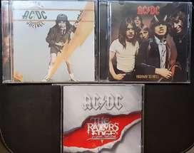 Venta de Cds de AC/DC en excelente estado