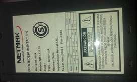 FUENTE ATX 550W NETMAK