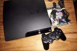 PlayStation 3, con 2 juegos. Impecable. Vendo hoy. Zona san justo