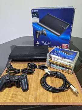 PlayStation 3(PS3) + 1 joystick +  juegos