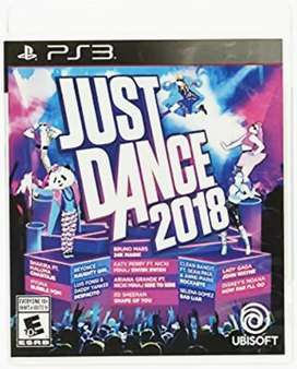 Just Dance 2018 PlayStation 3