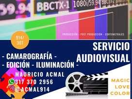 Editor y Camarógrafo Audiovisual.