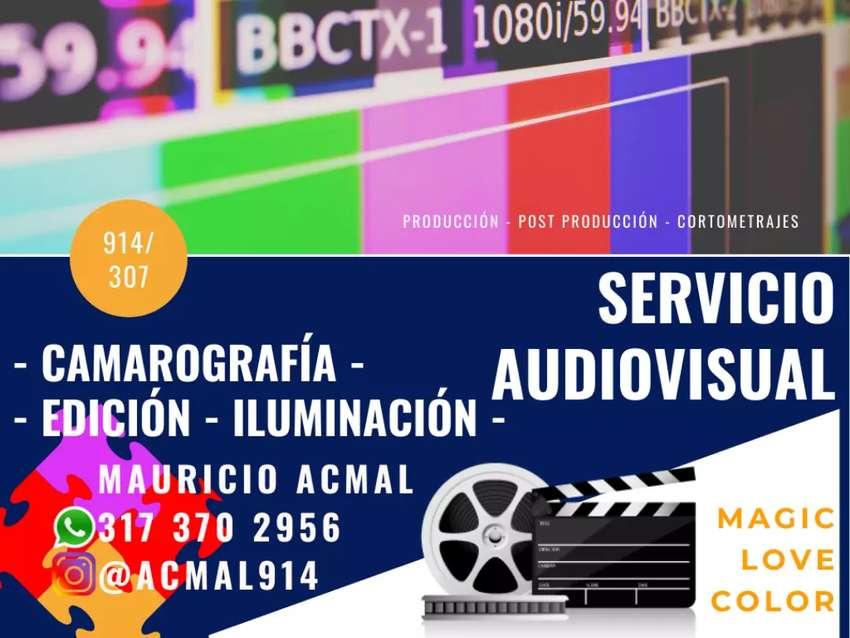 Editor y Camarógrafo Audiovisual. 0
