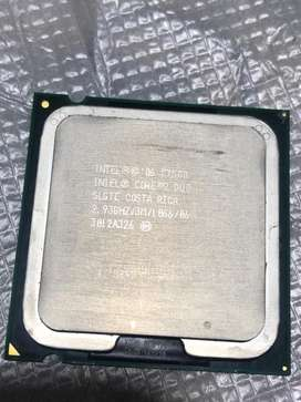 Procesador intel core 2 duo E7500 2.93Ghz