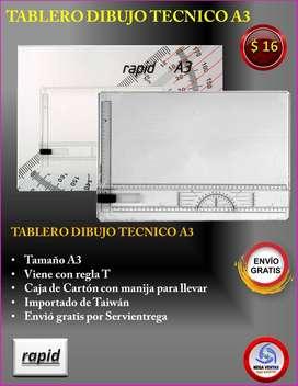 TABLERO DE DIBUJO TECNICO RAPID LB5008R A3 OFERTA