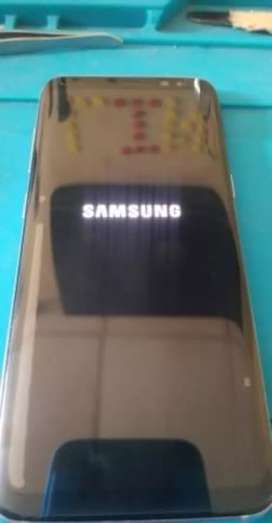 Vendo Samsung galaxy s8 normal con detalle