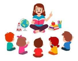 Licenciada ofrece clases de refuerzo para niños de primaria.
