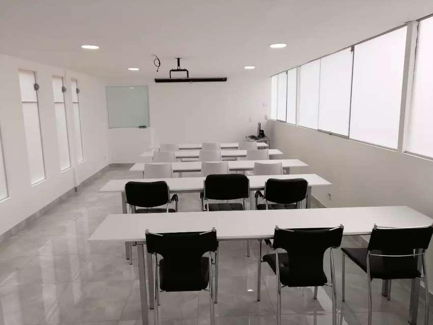 Aula / salón de Capacitaciones en Miraflores 0