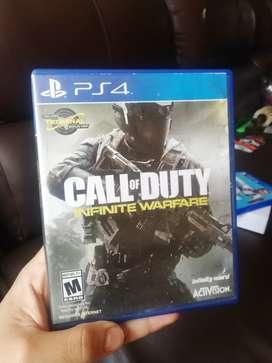 Juegos ps4 call of duty infinite warfare y fifa 19