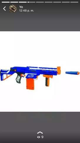 Nerf elite fusil azul
