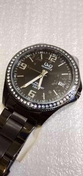 Reloj  Q & Q NEGRO CA06J803Y UNISEX 100%ORIGINAL $50.000 PESOS OFERTA