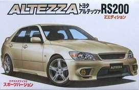 Fujimi Toyota Altezza Sports Rs200 1/24 Auto Armar