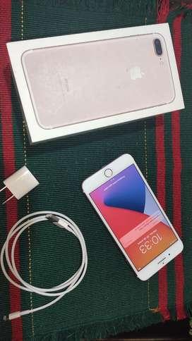 iPhone 7 Plus Rose Gold 32 Gb Usado Estado 8/10