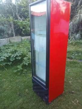 Refrigerador mostrador vertical