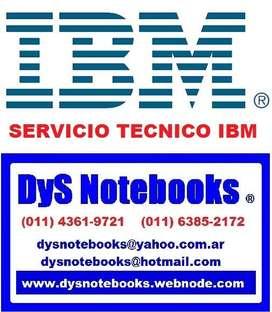 IBM SERVICIO TECNICO NOTEBOOK NETBOOK LAPTOP