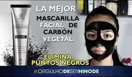 Mascarilla negra de Carbon Vegetal