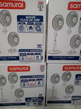 Ventiladores confort 3 velocidades nuevos