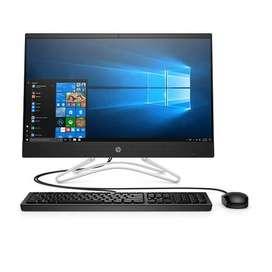"""TODO EN UNO HP 24-F008LA - INTEL CORE I3 8130U - 1 TERA - 4GB DDR4 - PANTALLA 23,8"""" - NO DVD - HDMI - WINDOWS 10 - NEGRO"""